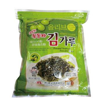 『玉童子』オリーブ油 味付けきざみのり(1kg) 業務用 大容量 ビビンパ きざみのり 刻み海苔 味付けのり 韓国海苔 マラソン ポイントアップ祭