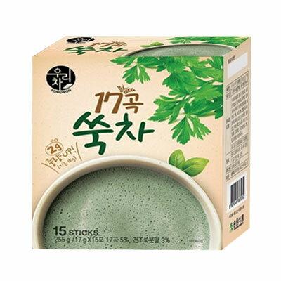 『ソンウォン』17穀よもぎ茶(17g×15包・粉末スティック)ヨモギ茶 健康茶 韓国茶 韓国飲料 韓国飲み物 韓国食品\17種の穀物とよもぎをミックスした健康茶/マラソン ポイントアップ祭 スーパーセール