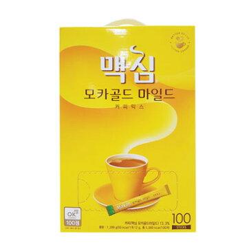 『東西』マキシム モカゴールド コーヒー ミックス (100包) インスタントコーヒー 韓国コーヒー 韓国飲料 韓国飲み物 韓国食品 オススメ\まろやかな甘さでちょっと一息コーヒータイム/マラソン ポイントアップ祭