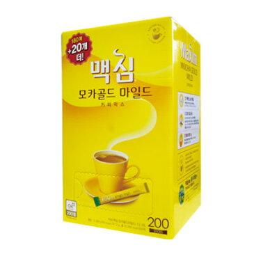 『東西』 Maxim モカゴールド コーヒー ミックス(180包+20包・ 業務用 ) ドンソ マキシム インスタントコーヒー 韓国コーヒー 韓国飲料 韓国飲み物 韓国食品\まろやかな甘さでちょっと一息コーヒータイム/ マラソン ポイントアップ祭