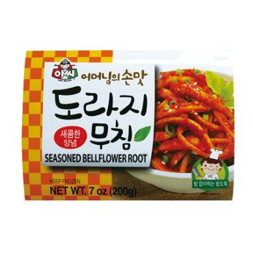 『アッシ』トラジ(キキョウ)キムチ(200g) 惣菜 甘辛 韓国おかず 韓国料理 韓国食品\桔梗の根をコチュジャンベースで味付けした一品!/ マラソン ポイントアップ祭