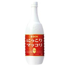 『二東』 にっこりマッコリ (1000ml・PET) E-DON イドン お酒 米酒 発酵酒 伝統酒 韓国酒 韓国食品マラソン ポイントアップ祭