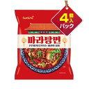 『三養』マーラー湯麺(激辛・4個入りパック)■1個当り167.5円マーラータンメン 麻辣湯麺 サムヤ