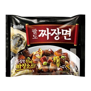 『Paldo』ジャジャン麺(203g)パルド 韓国ラーメン インスタントラーメンジャージャー麺 チャジャン麺 ジャジャン麺\厚い麺にタマネギの濃縮液を使用!プレミアムジャジャン麺/マラソン ポイントアップ祭