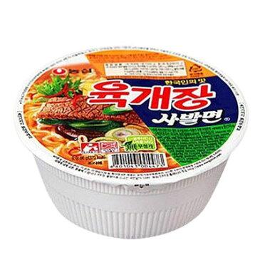 『農心』ユッケジャン カップ麺(86g) カップ麺 ノンシム NONG SHIM 韓国ラーメン ラーメン カップヌードル インスタントラーメン マラソン ポイントアップ祭