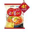 『Paldo』ラッポキ(4個入りパック)■1個当り119円パルド 韓国ラーメン インスタントラーメン トッポキ 辛い 韓国料理マラソン ポイントアップ祭