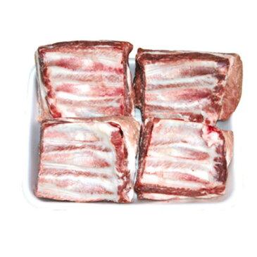 『豚肉類』豚カルビ・ブロック(約1kg)■チリ産 豚肉 煮込み カルビ 豚カルビ 骨付きカルビ 焼肉 冷凍食材 韓国食材 韓国食品 マラソン ポイントアップ祭
