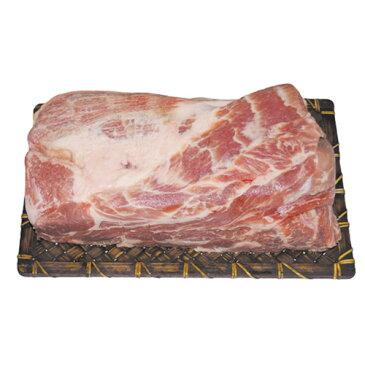 『豚肉類』豚肩ロース・ブロック ポッサム用(約1kg)■チリ産 豚肉 肩ロース ボッサム 冷凍食材 マラソン ポイントアップ祭