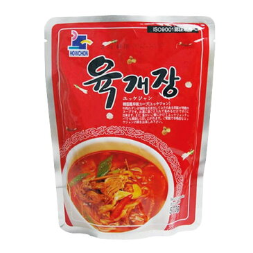 『ハウチョン』ユッケジャンスープ(570g・辛さ2) レトルト 韓国スープ 韓国鍋 韓国料理 チゲ鍋 韓国食品マラソン ポイントアップ祭