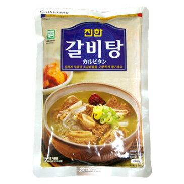 『眞漢』カルビスープ(600g・辛さ0) ジンハン レトルト 韓国スープ 韓国鍋 韓国料理 チゲ鍋 韓国食品\牛のカルビを煮込んだ辛くない香ばしいスープ/マラソン ポイントアップ祭