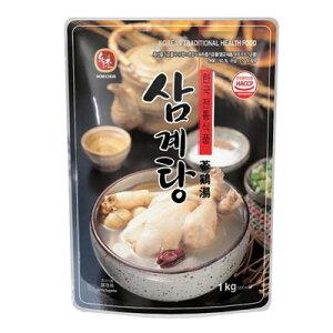 『ハウチョン』参鶏湯|サムゲタン(1kg)レトルト 鍋料理 韓国料理 韓国食材 韓国食品マラソン ポイントアップ祭