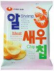 『農心』アルセウチップ|エビチップス(68g) ノンシム NONGSHIM スナック 韓国お菓子\海老の淡泊で香ばしい味を生かしたチップススタイルのスナック/マラソン ポイントアップ祭