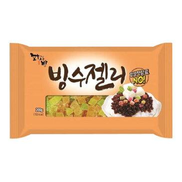 『ファガバン』カキ氷用ゼリー パッビンス用ゼリー(200g)デザート お菓子 韓国食材 韓国食品\多様な果物の味が楽しめます〜もっちりと甘い♪/マラソン ポイントアップ祭
