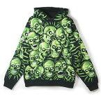 Supreme / シュプリームSkull Pile Hooded Sweatshirt / スカル ピル フーデッド スウェットシャツBlack / ブラック 黒2018SS 国内正規品 新古品【中古】