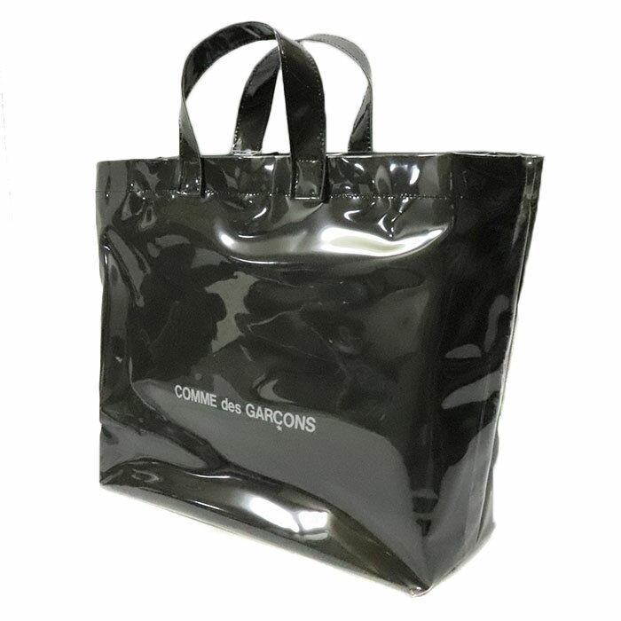 男女兼用バッグ, トートバッグ COMME des GARCONS blackmarket VINYL TOTE BAG BLACK 2019AW