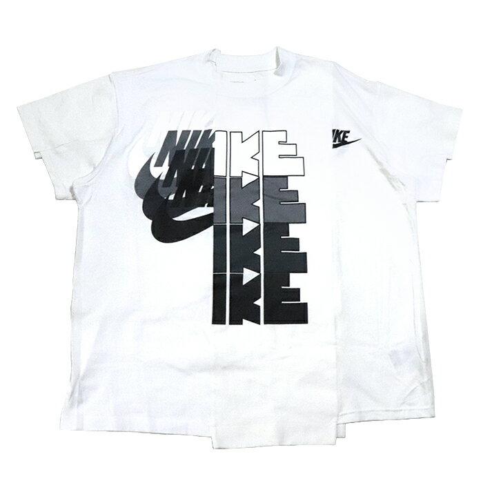 トップス, Tシャツ・カットソー sacai NIKE Womens T Shirt T 2White 2019AW