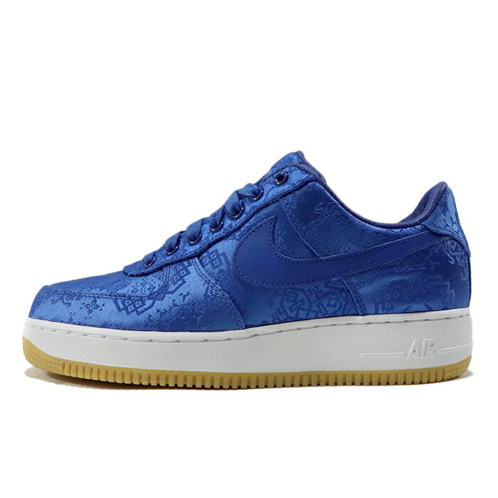 メンズ靴, スニーカー NIKE CLOT AIR FORCE 1 Royale University Blue Silk 1 GAME ROYALWHITECJ5290-4002019