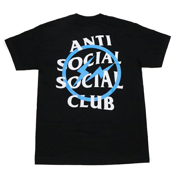 トップス, Tシャツ・カットソー Fragment Design ANTI SOCIAL SOCIAL CLUB BLUE BOLT TEE TBLACK 2019AW