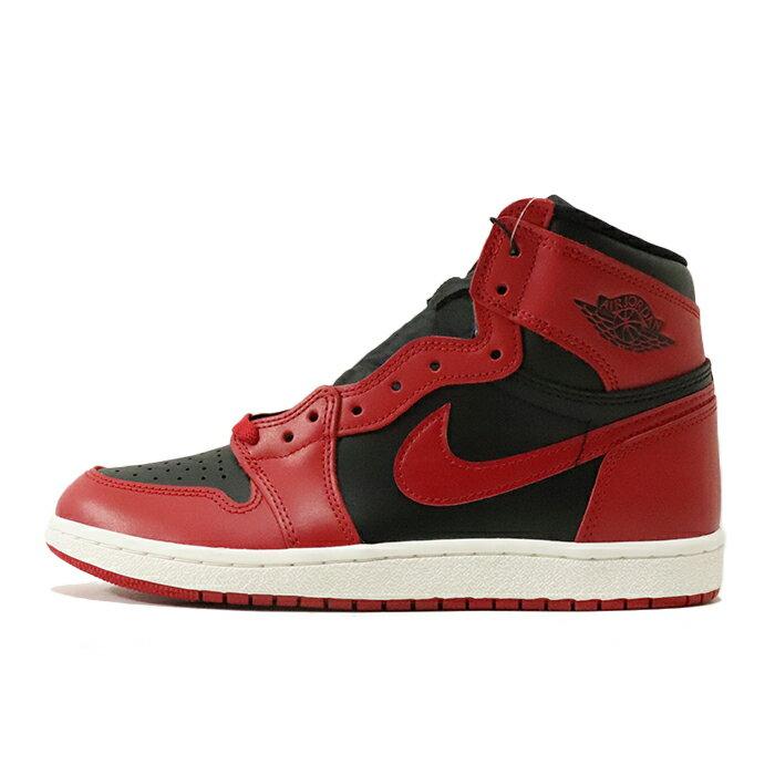 メンズ靴, スニーカー 2020 NIKE AIR JORDAN 1 HIGH 85 1 VARSITY REDVARSITY REDSUMMIT WHITE-BLACKBQ4422-600