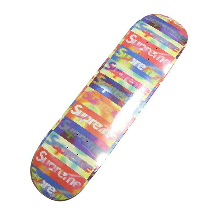 スケートボード, スケートボード本体 Supreme Distorted Logo Skateboard Orange 2020SS