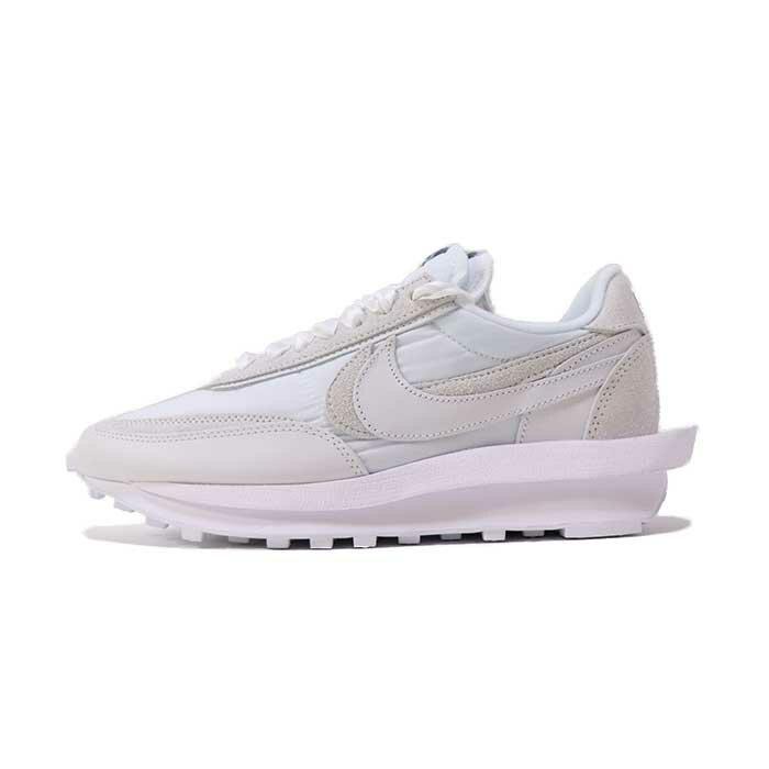 メンズ靴, スニーカー NIKE sacai LD Waffle WHITEWHITE BV0073-1012020