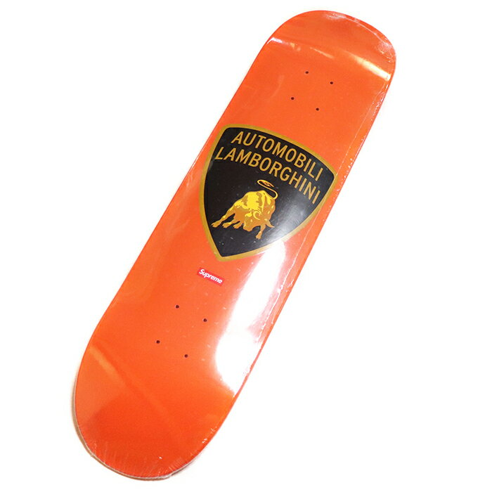 スケートボード, スケートボード本体 Supreme x Automobili Lamborghini Skateboard Orange 2020SS
