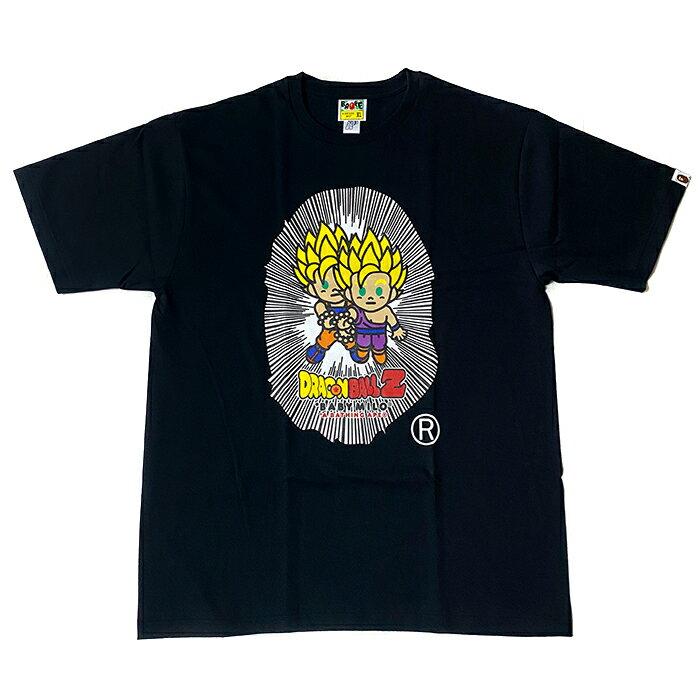 トップス, Tシャツ・カットソー A BATHING APE BAPE x DRAGONBALL Z BABY MILO BIG APE HEAD TEE TBLACK 2020SS