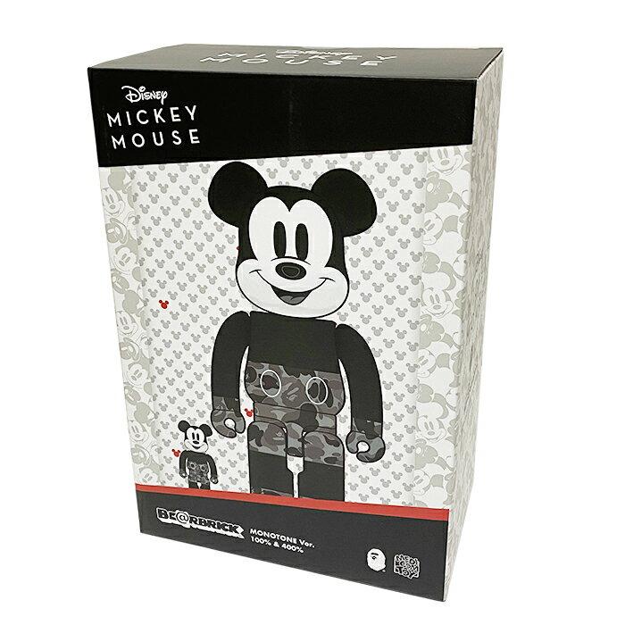 コレクション, フィギュア MEDICOM TOY BERBRICK BAPE(R) MICKEY MOUSE MONOTONE Ver. BLACK WHITE 2020