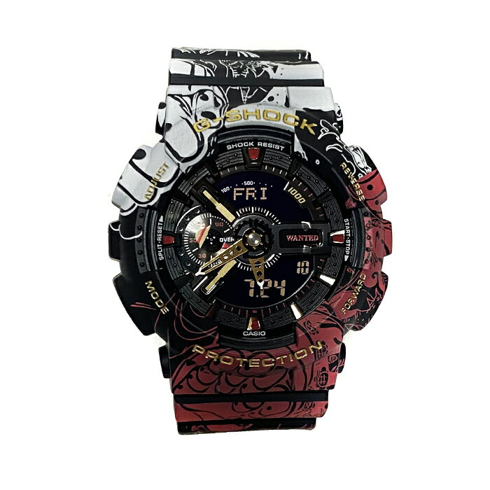 腕時計, メンズ腕時計  CASIO x ONEPIECE G-SHOCK GA-110JOP-1A4JR GBLACK 2020SS