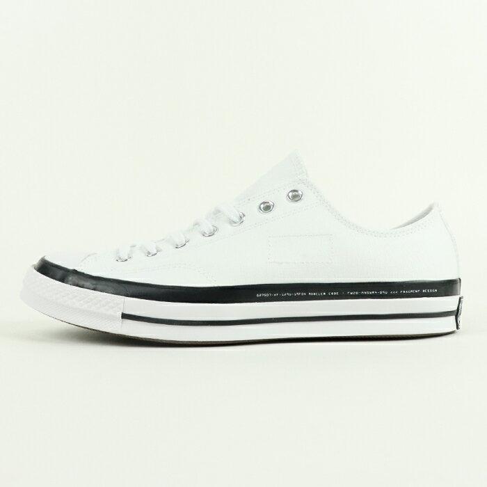 メンズ靴, スニーカー CONVERSE Moncler Fragment Design Chuck 70 70White 169070C