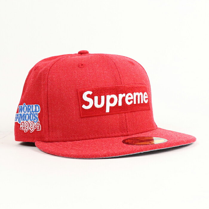 メンズ帽子, キャップ Supreme World Famous Box Logo New Era Red 2020AW