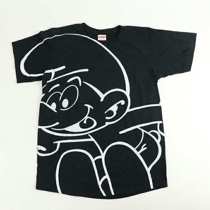 トップス, Tシャツ・カットソー Supreme Smurfs Tee TBlack 2020FW