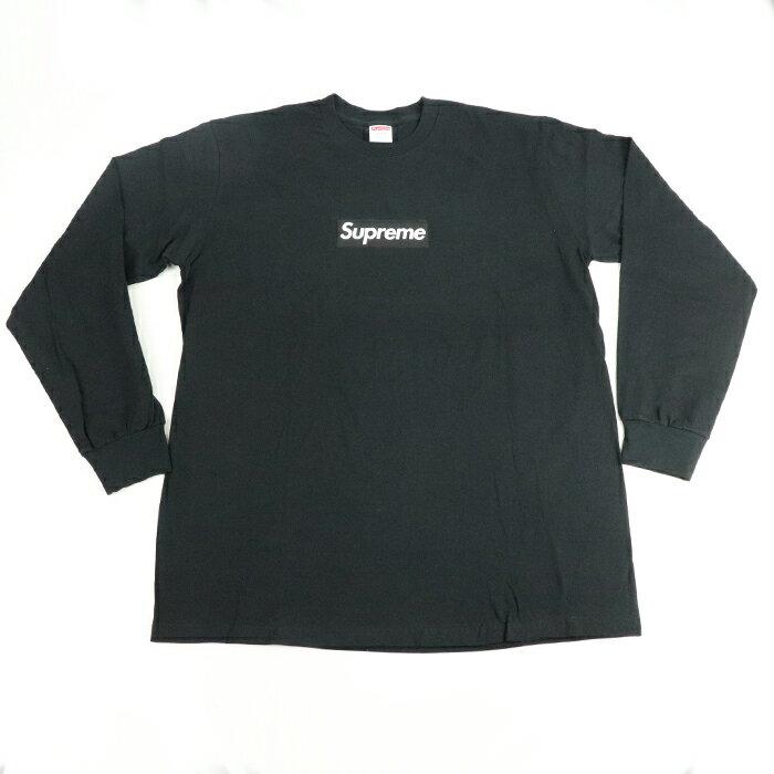 トップス, Tシャツ・カットソー Supreme Box Logo LS Tee TBlack 2020FW