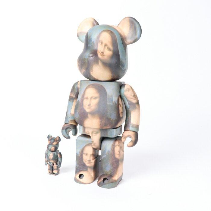 コレクション, フィギュア MEDICOM TOY BERBRICK LEONARD DE VINCI Mona Lisa 100 400 2021SS
