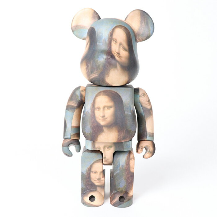 コレクション, フィギュア MEDICOM TOY BERBRICK LEONARD DE VINCI Mona Lisa 1000 2021SS