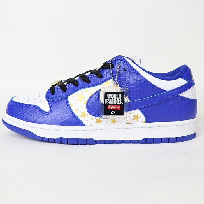 メンズ靴, スニーカー 2021SS Supreme Nike SB Dunk Low Blue Stars DH3228-100