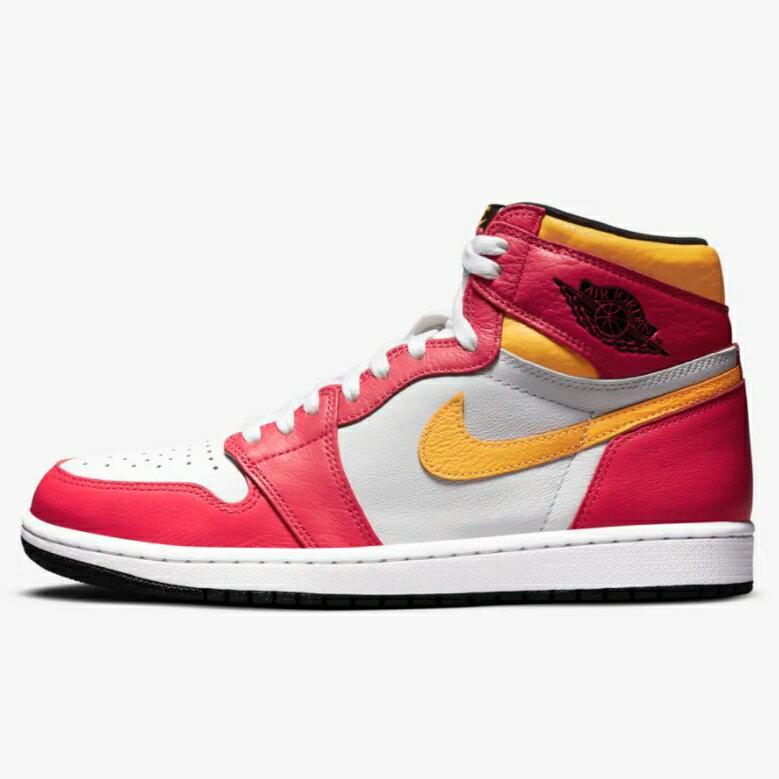メンズ靴, スニーカー 2021 Nike Air Jordan 1 Retro High OG Light Fusion Red 555088-603
