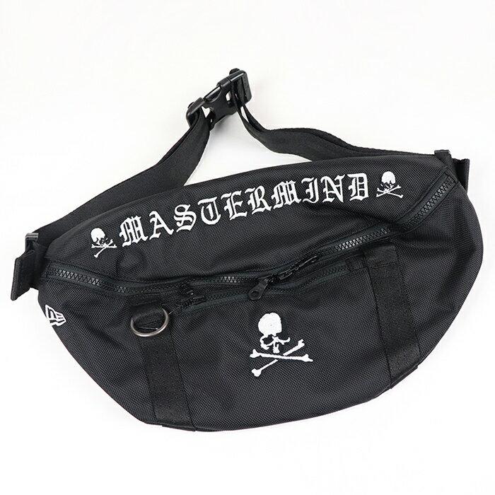 メンズバッグ, ボディバッグ・ウエストポーチ 2021SS mastermind JAPAN Waist Bag Black 2021SS New Era