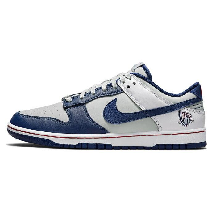 メンズ靴, スニーカー NIKE x NBA 75th Anniversary NBA 75 Dunk Low EMB NETS Neutral GreyObsidian-Red-White DD3363-001 2021