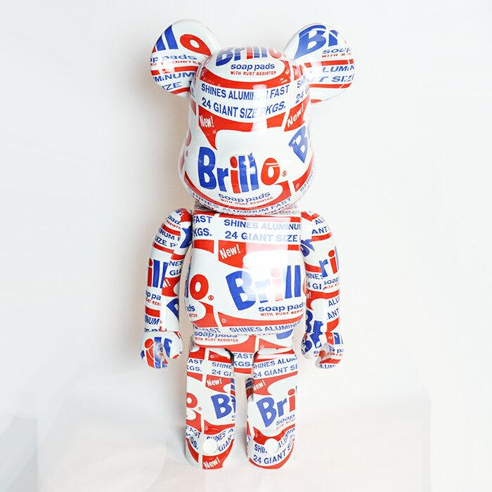 コレクション, フィギュア MEDICOM TOY BERBRICK Andy Warhol Brillo 1000 2020