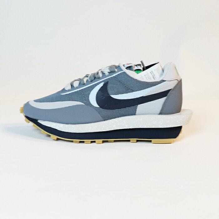 メンズ靴, スニーカー NIKE sacai CLOT LD Waffle Cool Grey LD Neutral GreyObsidian-Cool Grey DH3114-001 2021