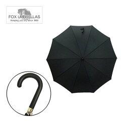 ●紳士のたしなみ●【カサ】【傘】FOX UMBRELLAS 【フォックス アンブレラ】長傘 BLACK MATT W...