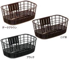 OGK FB-038K 籐風大きなフロントバスケット 【2013年5月新商品】