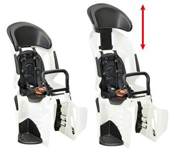 【SGヘルメット付・限定カラー】OGKRBC-011DX3ホワイト/ブラックモノトーン・パンダカラー(アジャスタブルヘッドレスト付うしろ子供のせ)【代引き不可・関東から九州まで単品送料無料】