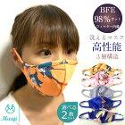 リバーシブル立体マスク5枚セット水着素材涼しいヒンヤリ飛沫予防花粉対策紫外線対策排気ガス対策マスク布マスク大人用マスクファッションマスクおしゃれ洗えるCalmAirAdult5PackFaceCoverings