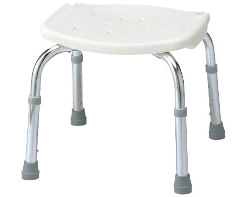 介護用 風呂椅子 安寿 背なしシャワーベンチC 535-420 アロン化成介護用品 風呂椅子 お風呂 椅子 ...