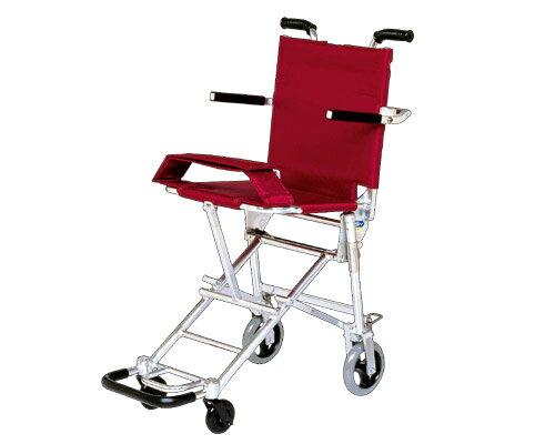 簡易車椅子 携帯車いす NAH-207 超軽量・ワンタッチ折りたたみ式 日進医療器 車イス 車いす 車...