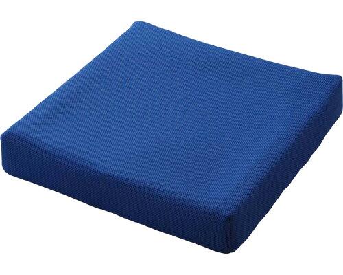 車椅子 クッション ピタ・シートクッション70 (70mm厚、2枚重ね) ブルー(PT003B) 日本ジェル...