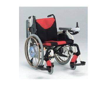 電動車いす(電動ユニット付車椅子) MY-1JWX 松永製作所 【smtb-kd】【RCP】【介護用品】