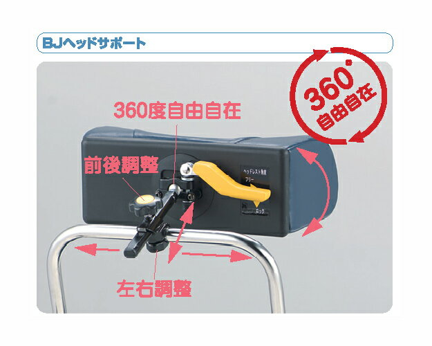 BJヘッドサポート 枕のみ 松永製作所介護用品 ヘッドサポート